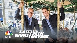 NBC Forced Friendship: Seth and Lester Holt - Late Night with Seth Meyers
