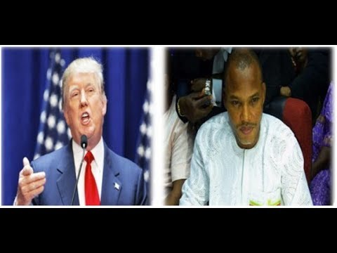 Biafrexit: American Calls For Referendum Ahead of Trump, IPOB Meeting