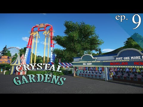 Crystal Gardens Ep. 9 - Planet Coaster - Midway Madness