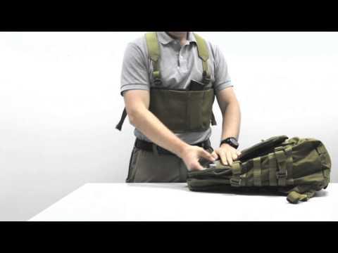 Нагрудник для скрытого ношения | Low-Vis Chest Rig For AK Mags