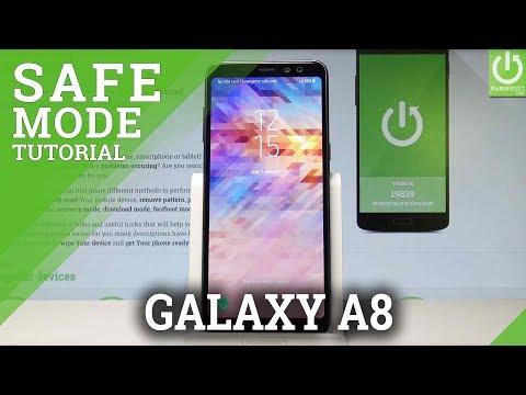 Safe Mode SAMSUNG Galaxy A6 - HardReset info