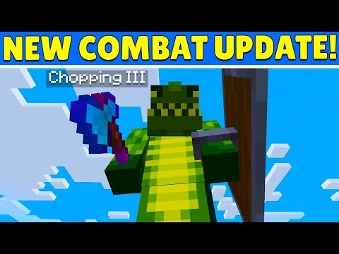NEW COMBAT V5 CHANGES! | Minecraft Combat Weapons Do Less Damage!