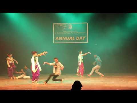 Ishkachi Nauka | Romantic Dance | College Annual | Vishal And Group