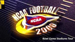 NCAA Football 2000 Bowl Game Stadiums (4K60FPS)