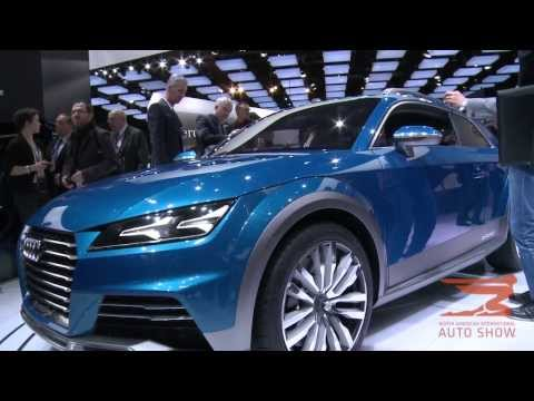 Audi allroad shooting brake and 2015 A8 and S8 make thier debut at the NAIAS in Detroit