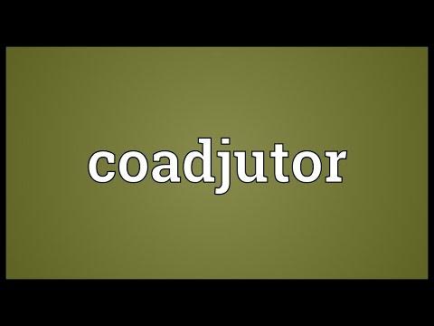 Header of coadjutor
