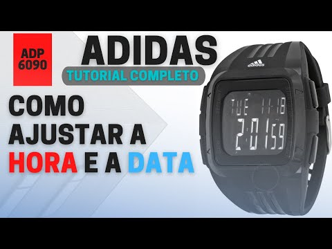 15a559b0778 COMO CONFIGURAR RELÓGIO ADIDAS ADP 6090 (TUTORIAL) - YouTube