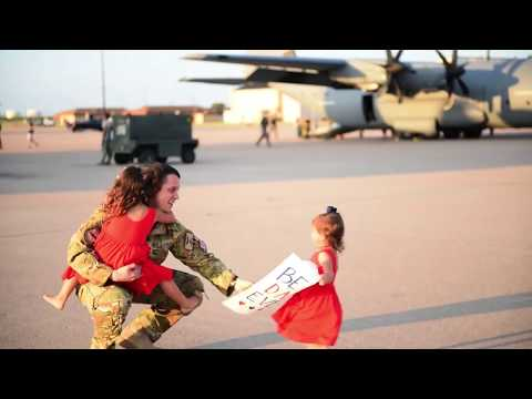 60 Seconds or Less: 40th Airlift Squadron Redeployment