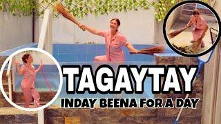 Tagaytay with family 😅 Ako lang nag edit 😅 INDAY beena for the day, eh Ako naman talaga yan 😅