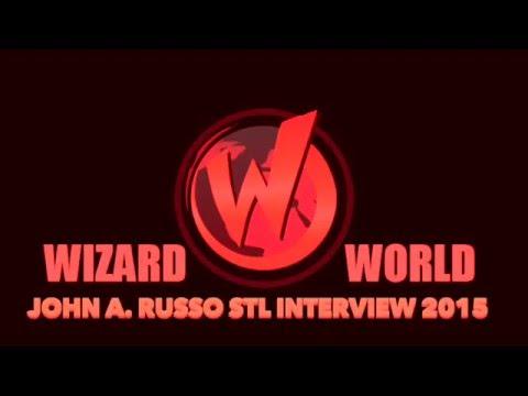 Wizard World Comic Con STL John A  Russo Interview 2015