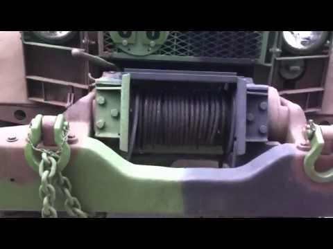 M35A2 Winch - YouTube