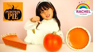 How to make Pumpkin Pie with Rachel | Thanksgiving dessert for Kids