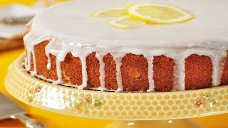 Lemon Frosted Lemon Cake Recipe Demonstration - Joyofbaking.com