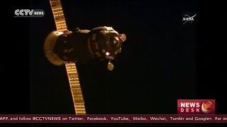Russian Cargo Ship Docks with the Space Station | Video