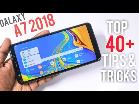 Samsung Galaxy A7 2018 Tips and Tricks | 40+ Best Features of Samsung  Galaxy A7 2018 | Hindi |