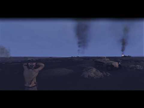 Tank Warfare Tunisia 1943 USA WAR-22 |