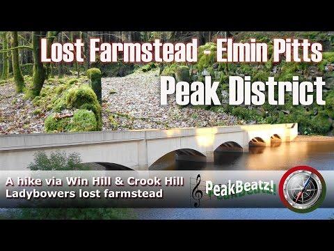 Peak District - Lost Farmstead - Elmin Pitts Farm, a hike via Win Hill & Crook Hill