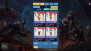 CryptoGladiator Overview - NEO blockchain game by NewEconoLabs