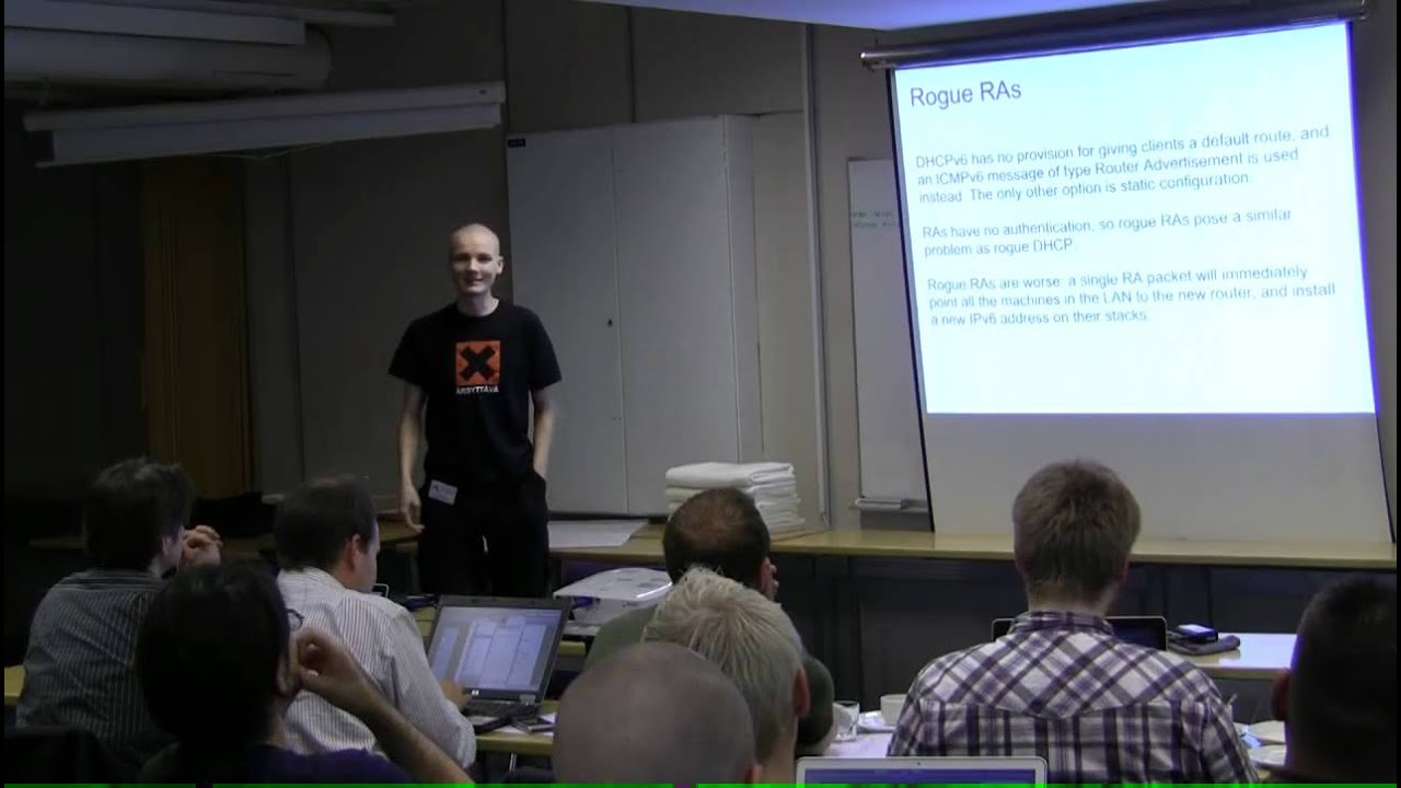 TREX Workshop 2011 - IPv6 Access Security Issues