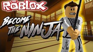 HOW to Become a NINJA in ROBLOX (Roblox Ninja Simulator)