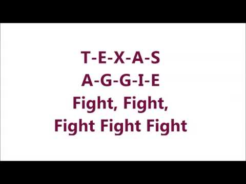 Spirit of Aggieland - With Lyrics