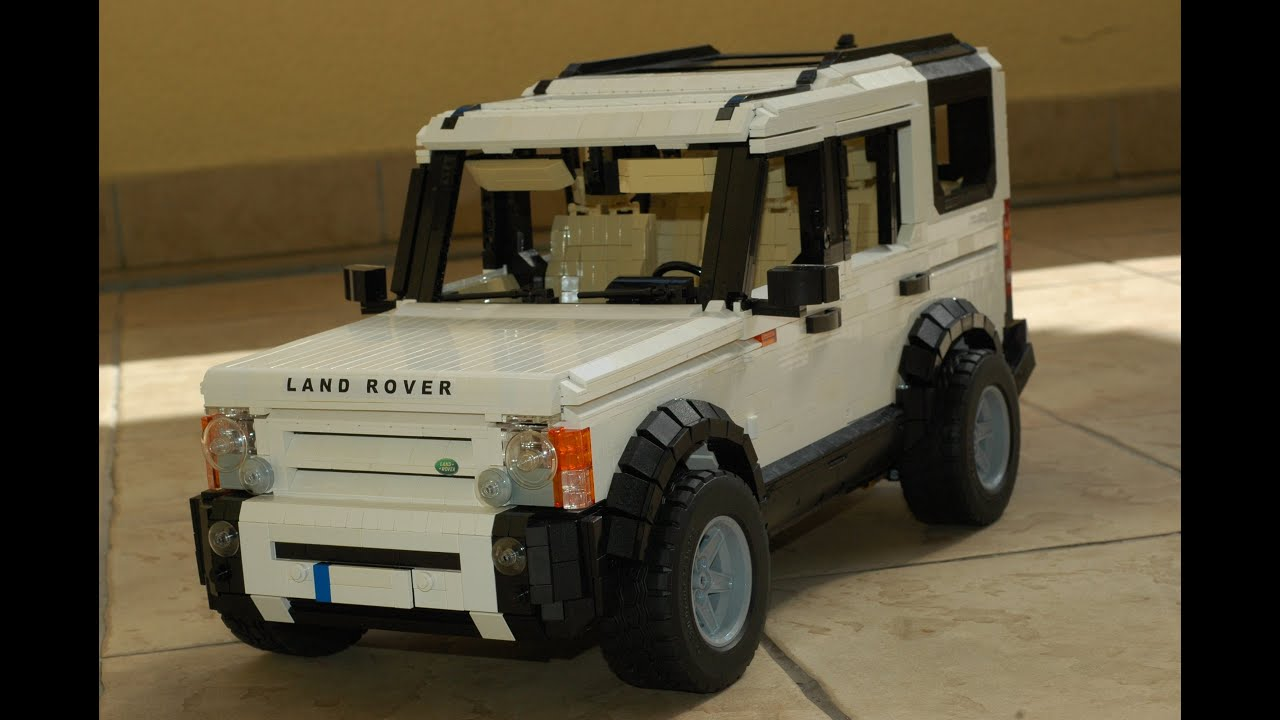 Lego land Rover Discovery 3