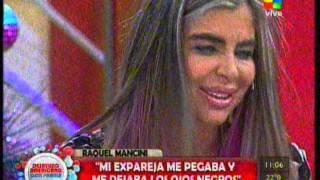 Raquel Mancini, víctima de violencia de género