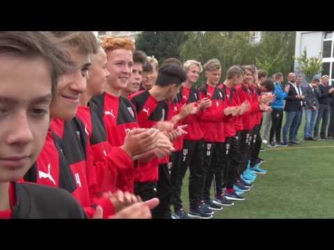 Otevření Regionální fotbalové akademie v Olomouci