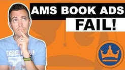 AMS Book Ads Not Working? Here's How to Fix Them