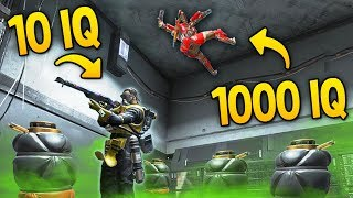 10 IQ PLAY vs 1000 IQ OUTPLAYS in Apex Legends!
