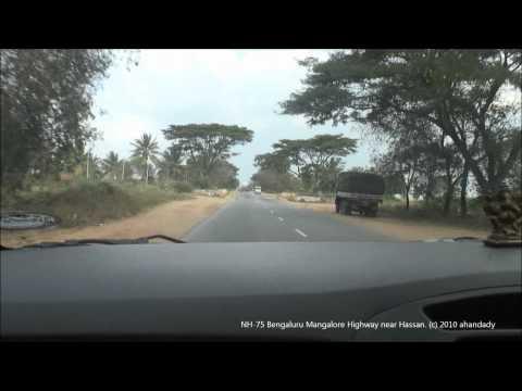 NH-75  Mangalore Hassan Bengaluru Highway (2010)