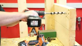 Обзор бесщеточной акумуляторной дрели-шуруповерта (BRUSHLESS DRILL DRIVER) AEG BS 18 CBL