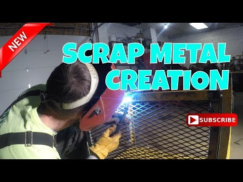 DIY SCRAP METAL TOOL STORAGE  [PART 2] #lawncarebusiness