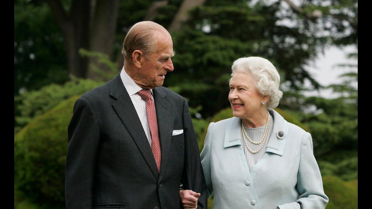 Queen Elizabeth Ii Prince Philip Celebrating Their Platinum