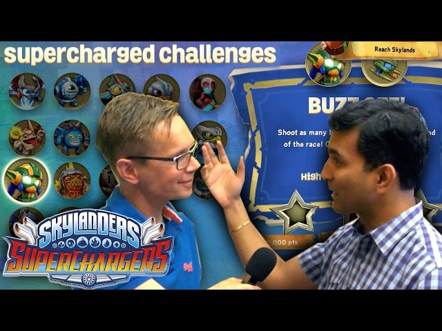 All Skylanders Superchargers Academy Game Play Persephone Flynn Cali Buzz Youtube