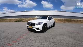 MERCEDES AMG GLC 63 S REVIEW POV Test Drive on AUTOBAHN & ROAD by AutoTopNL