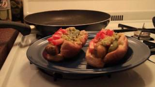 Vegetarian Chicago-Style Hot Dogs