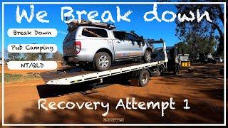 We Break Down - Part 1|Caravanning Australia|Biglap|Travel Australia - Just Vanning It