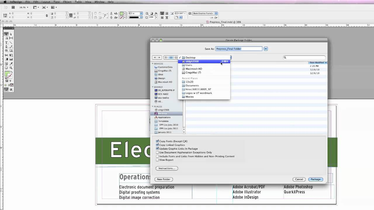 adobe indesign cs5 package tutorial youtube rh youtube com