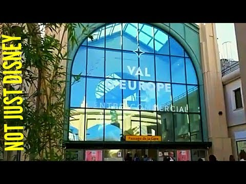 DISNEYLAND PARIS TO VAL D'EUROPE SHOPPING CENTRE BY TRAIN A Step By Step Guide