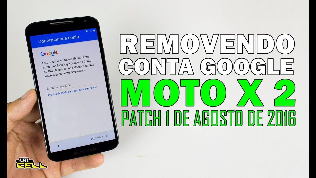 Removendo A Conta Google Do Moto X 2ª Geracao Xt1097 Uticell