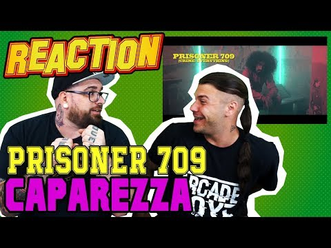 Caparezza - Prisoner 709 | DISSING ALLA NUOVA SCENA  | RAP REACTION 2017 | ARCADEBOYZ
