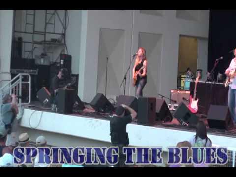 SPRINGING THE BLUES FEST JACKSONVILLE FLORIDA 2012 AT JAX BEACH.wmv