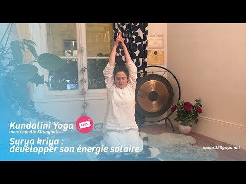 Kundalini yoga live ❤︎ Surya kriya : développer son énergie solaire