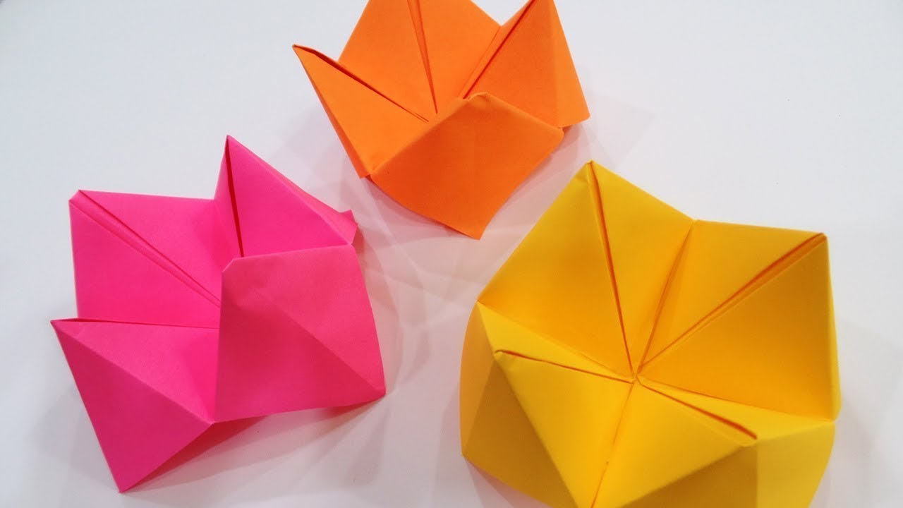 How To Make Fortune Teller Origami In Tamil Youtube