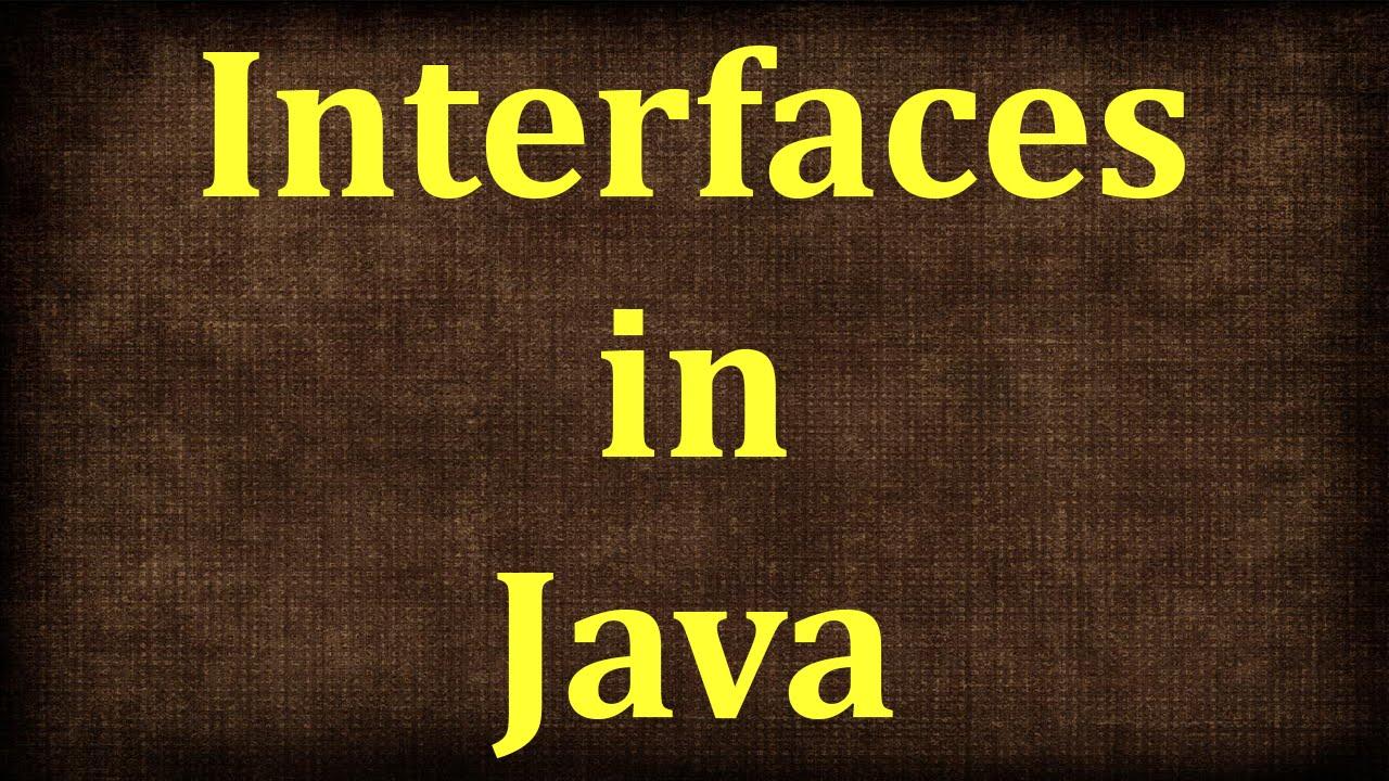 Java tutorial 19 interface in java java beginners tutorial java tutorial 19 interface in java java beginners tutorial by java9s baditri Gallery