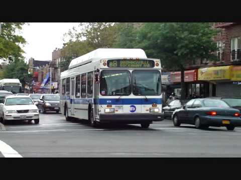 Mta Nyc Bus New Flyer C40lf B8 Amp B35 956 Amp 896 Amp Orion