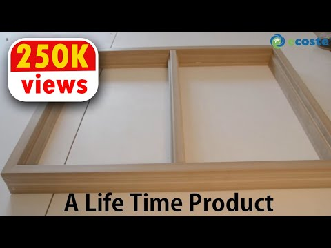 A Much Better Window Frame Than Wooden & UPVC Windows Launched - A Life Time Product !!!!