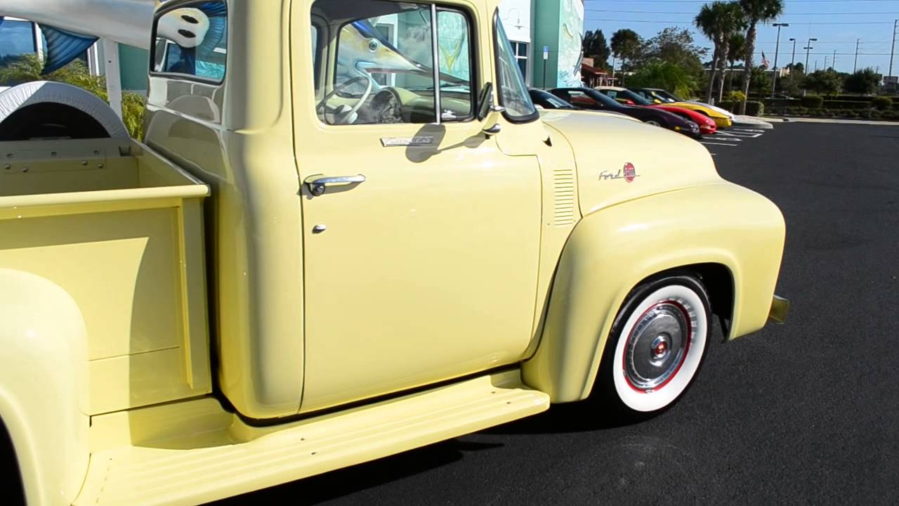 1956 ford f 100 classic trucks for sale stuart fl 34997 youtube. Black Bedroom Furniture Sets. Home Design Ideas