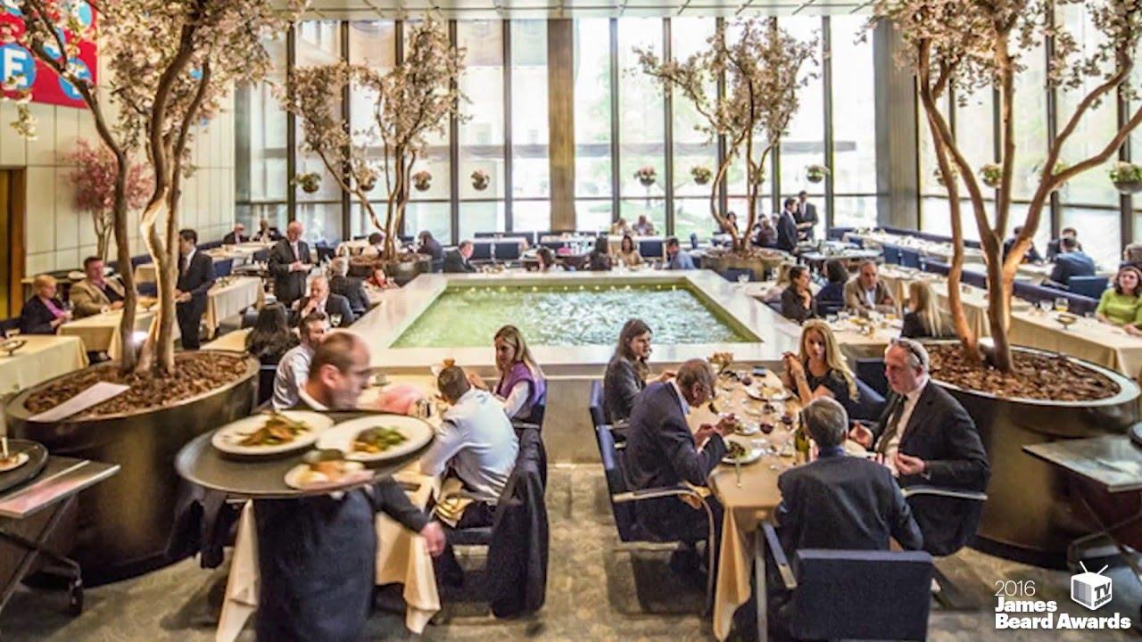 2016 JBF Awards The Four Seasons Restaurant Design Icon Award Winner